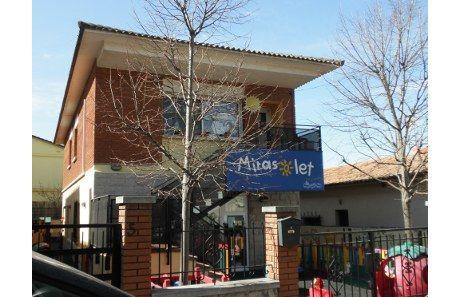 Una de les escoles Mirasolet està situada al carrer dels Apenins FOTO: Arxiu