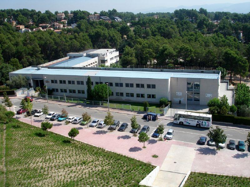 Vista aèria de l'escola