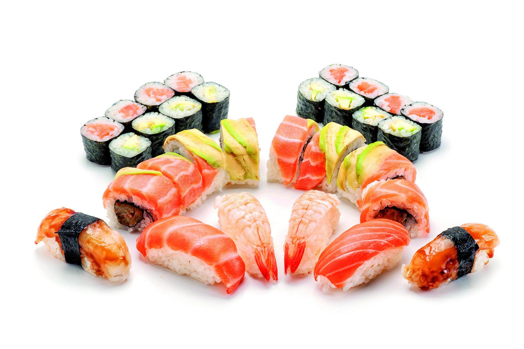 Sushi per endur i assaborir a casa