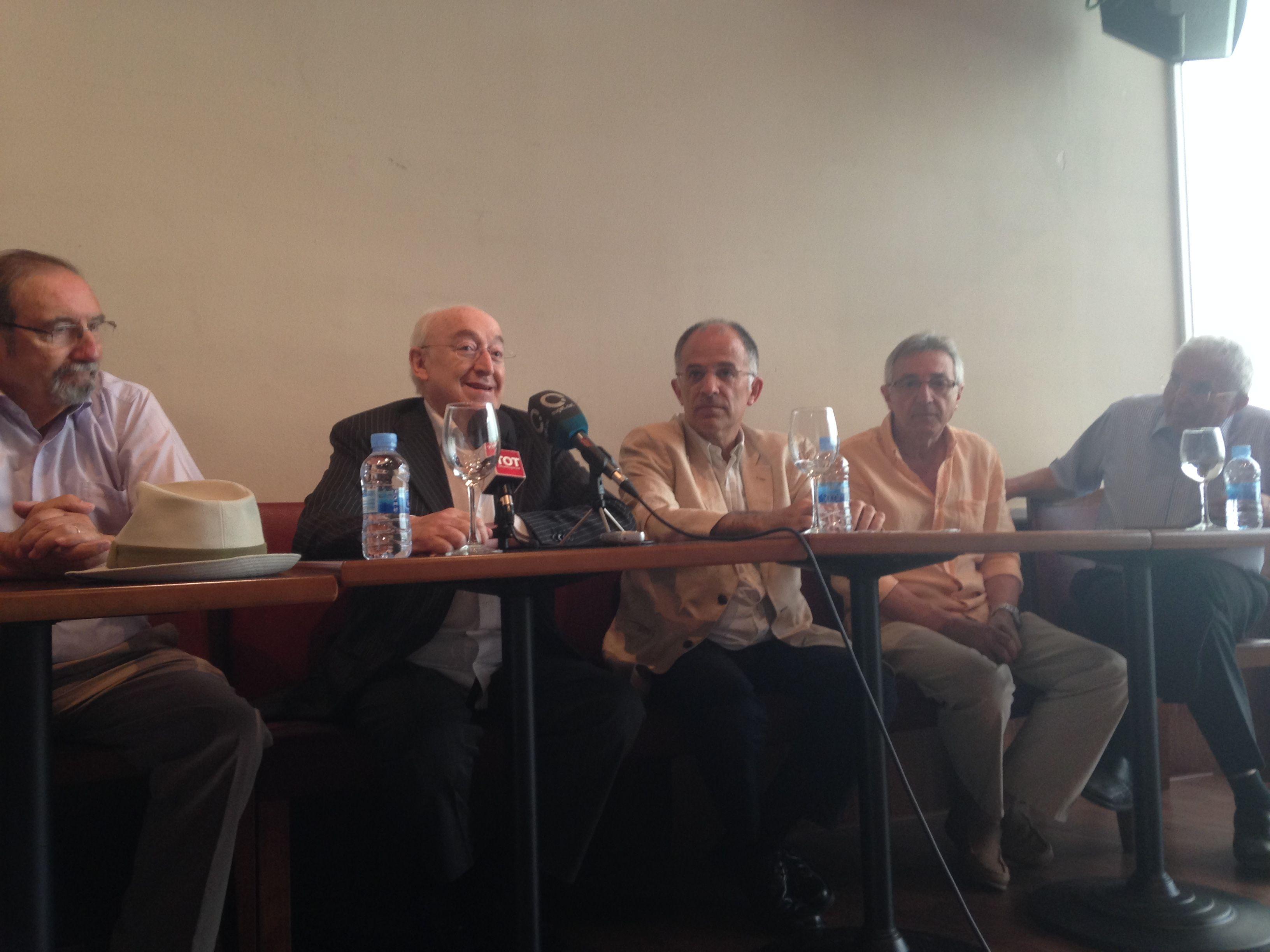 L'obra s'ha presentat dimarts, 9 de juny, al Cafè Auditori. FOTO: C.Caballé