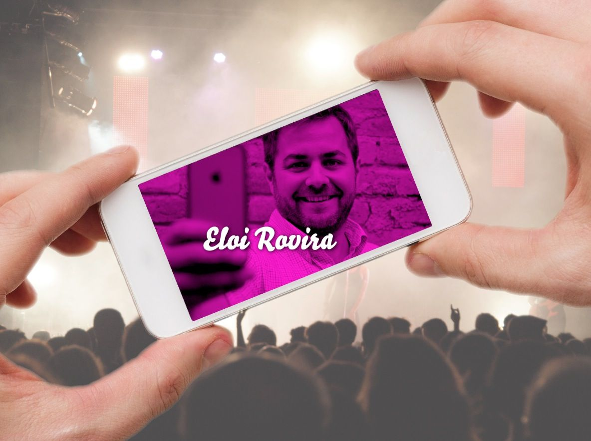 Eloi Rovira, regidor de l'Ajuntament de Sant Cugat i atleta
