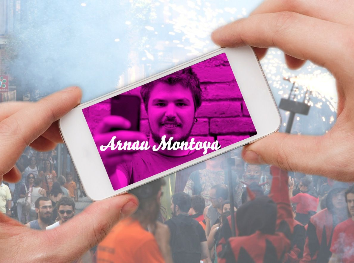 A. Montoya és un fanàtic de la cultura popular i tradicional catalana