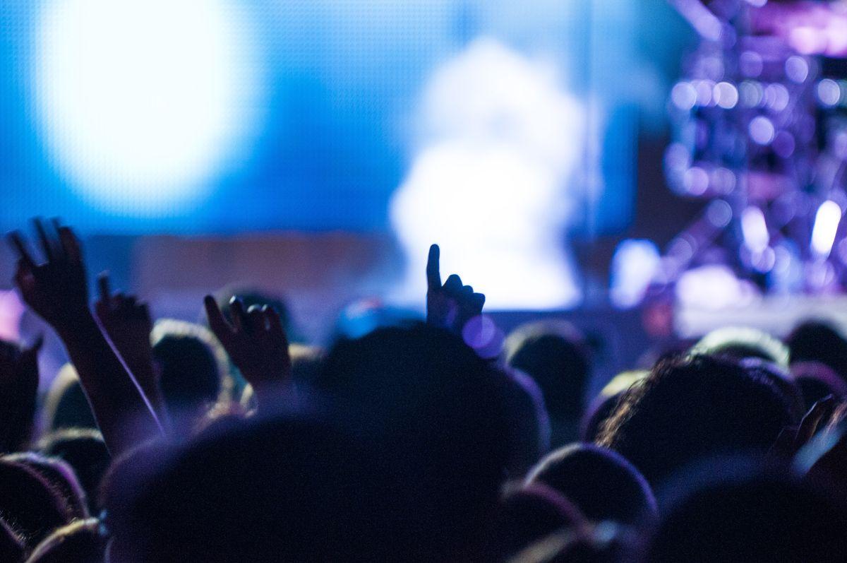 La música s'apodera de la primera nit de Festa Major. FOTO: Lali Puig