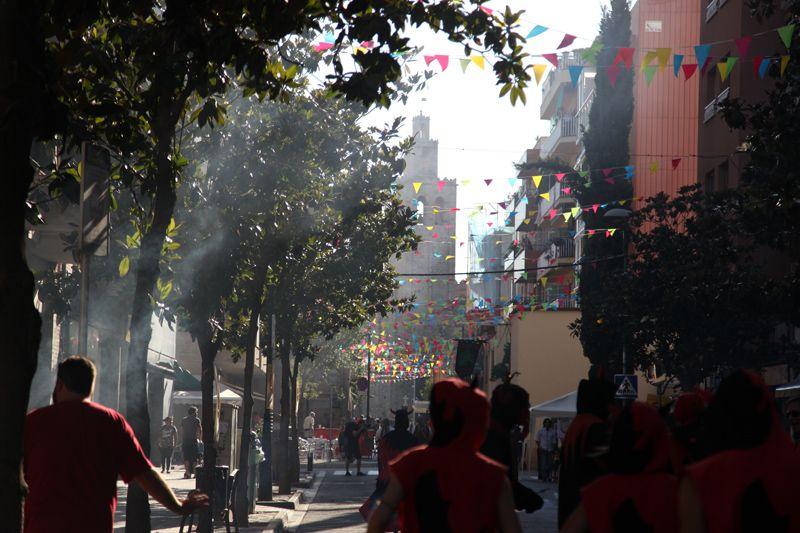 Inici de Festa Major: pregó i seguici. FOTOS: Lali Puig