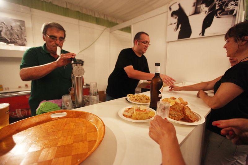 La gastronomia andalusa ha estat un bon reclam pels santcugatencs. FOTO: Lali Puig