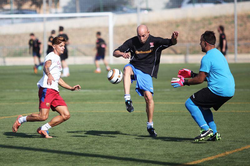 Torneig de futbol 7 a la ZEM Jaume Tubau. FOTOS: Lali Puig
