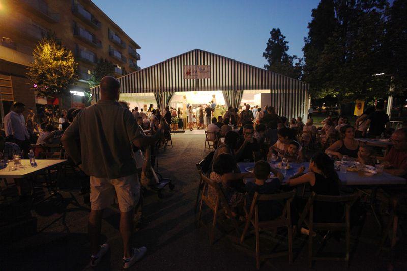 Inauguració de la Caseta del CPA al carrer de Josefina Mascareñas. FOTOS: Lali Puig