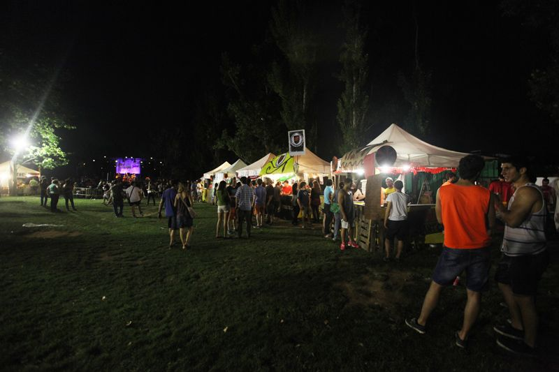 Imatge de la primera nit de la Desplaça Jove. FOTO: Lali Puig