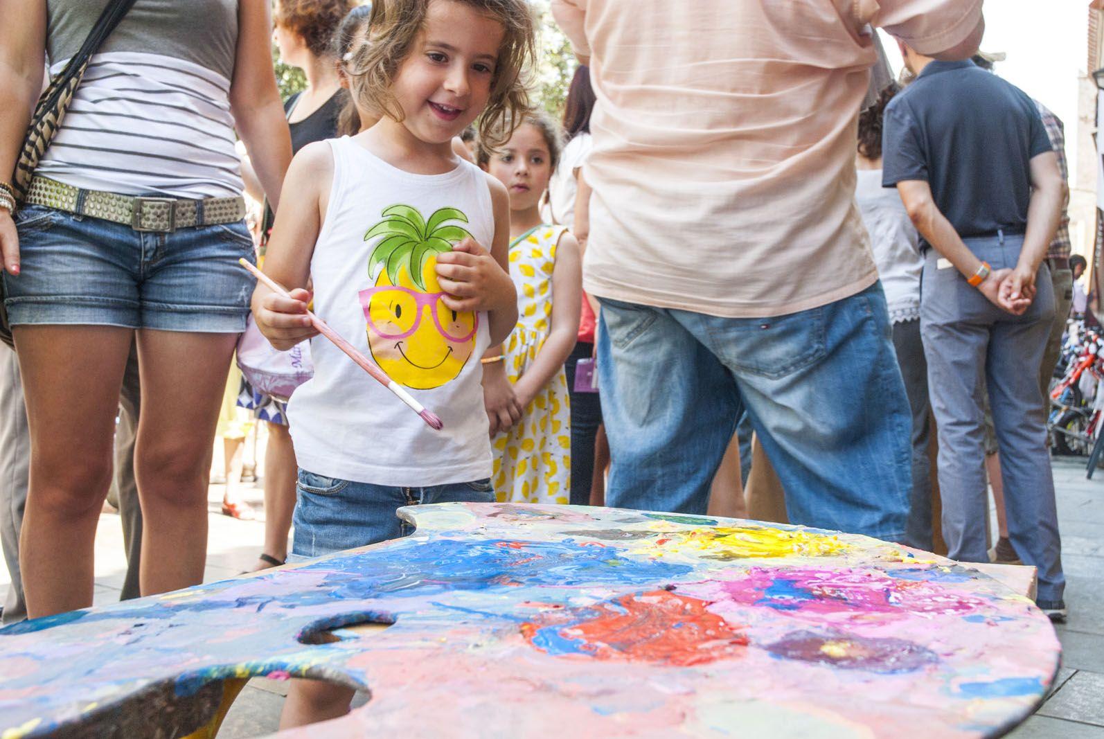 Els més petits han pogut gaudir de tota mena d'activitats. FOTO: Aida Sotelo
