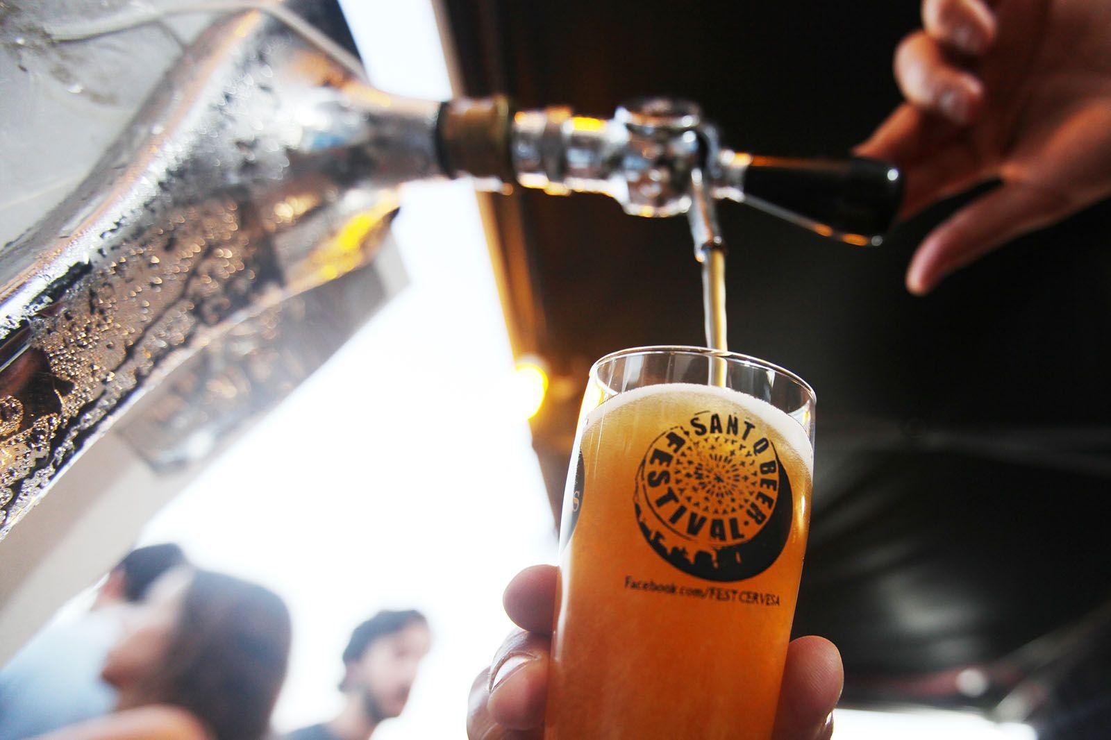 Sant Cugat Beer Festival a la Plaça del Rei. FOTOS: Lali Puig