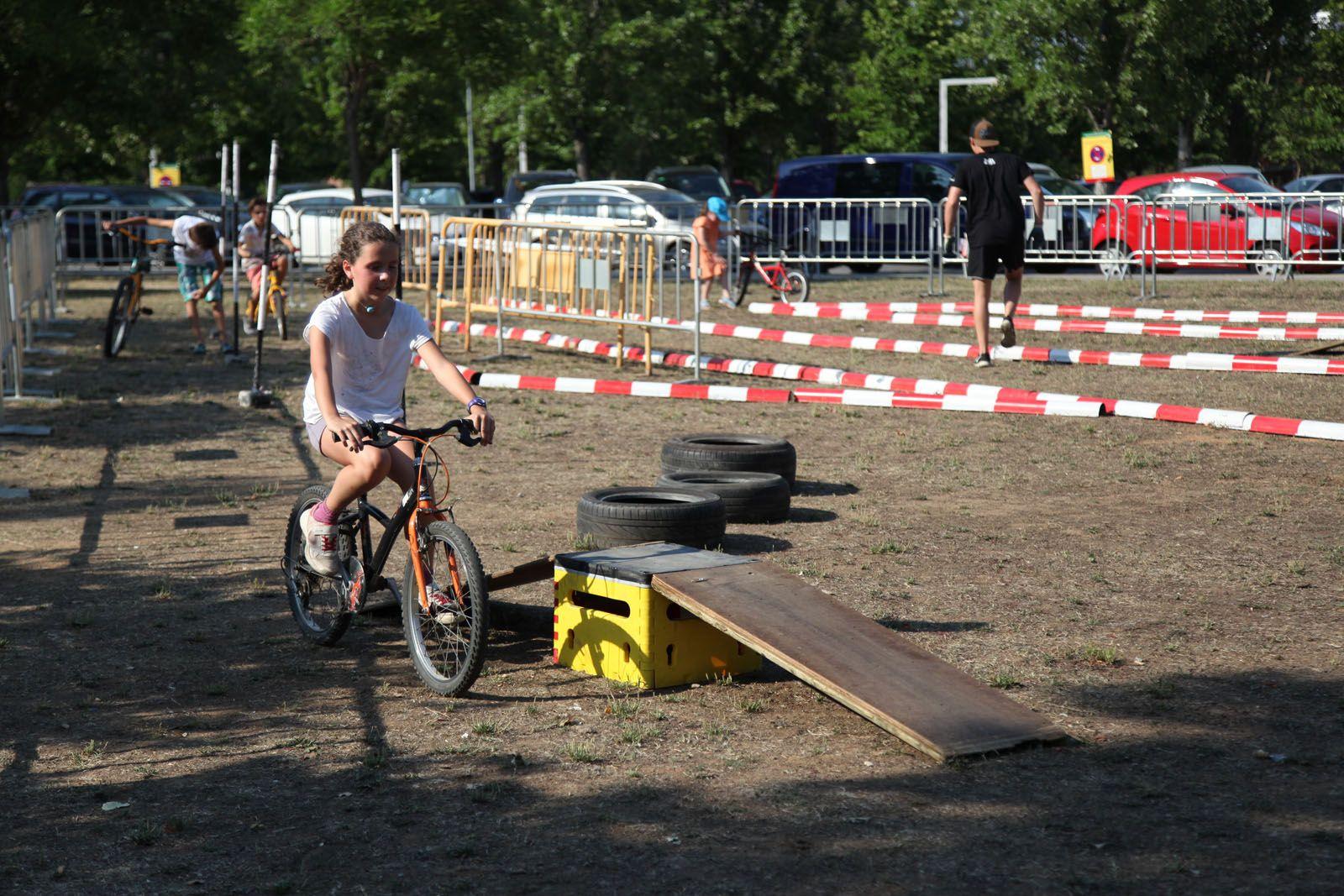 El Parc de Can Vernet, l'escenari de l'esport a la Festa Major. FOTO: Lali Puig