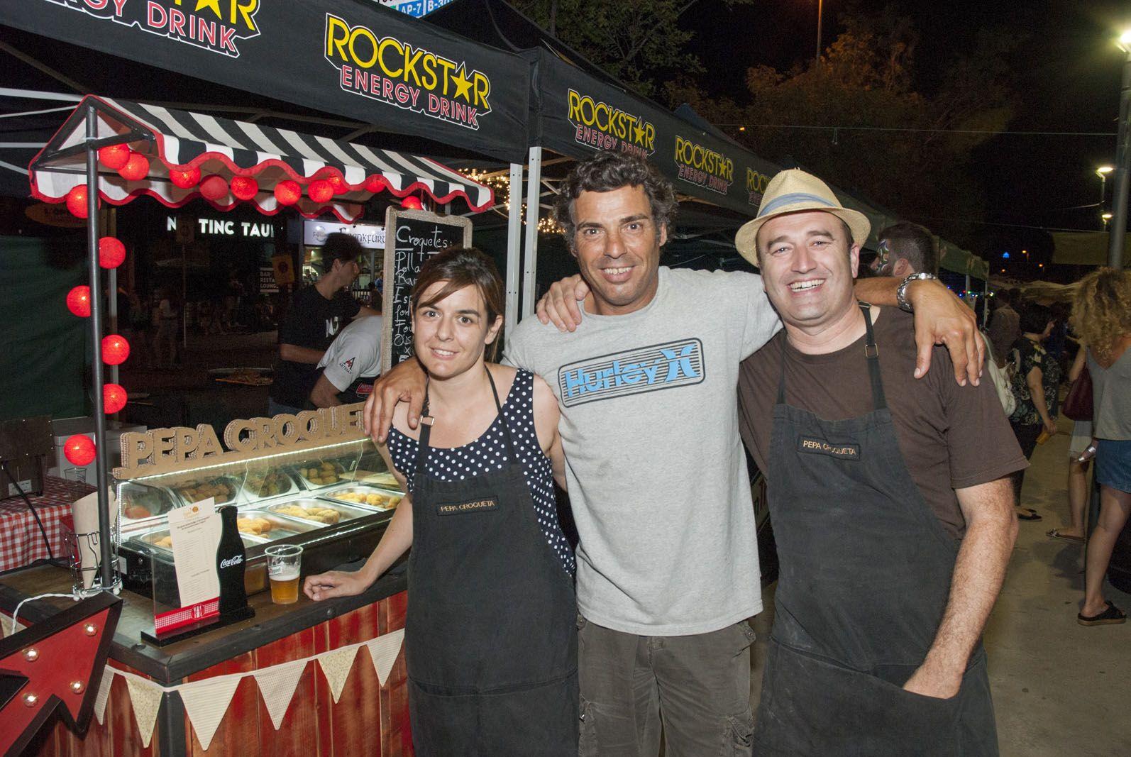 Sopar a la Fresca. Plaça Gabriel Ferrater. FOTOS: Aïda Sotelo