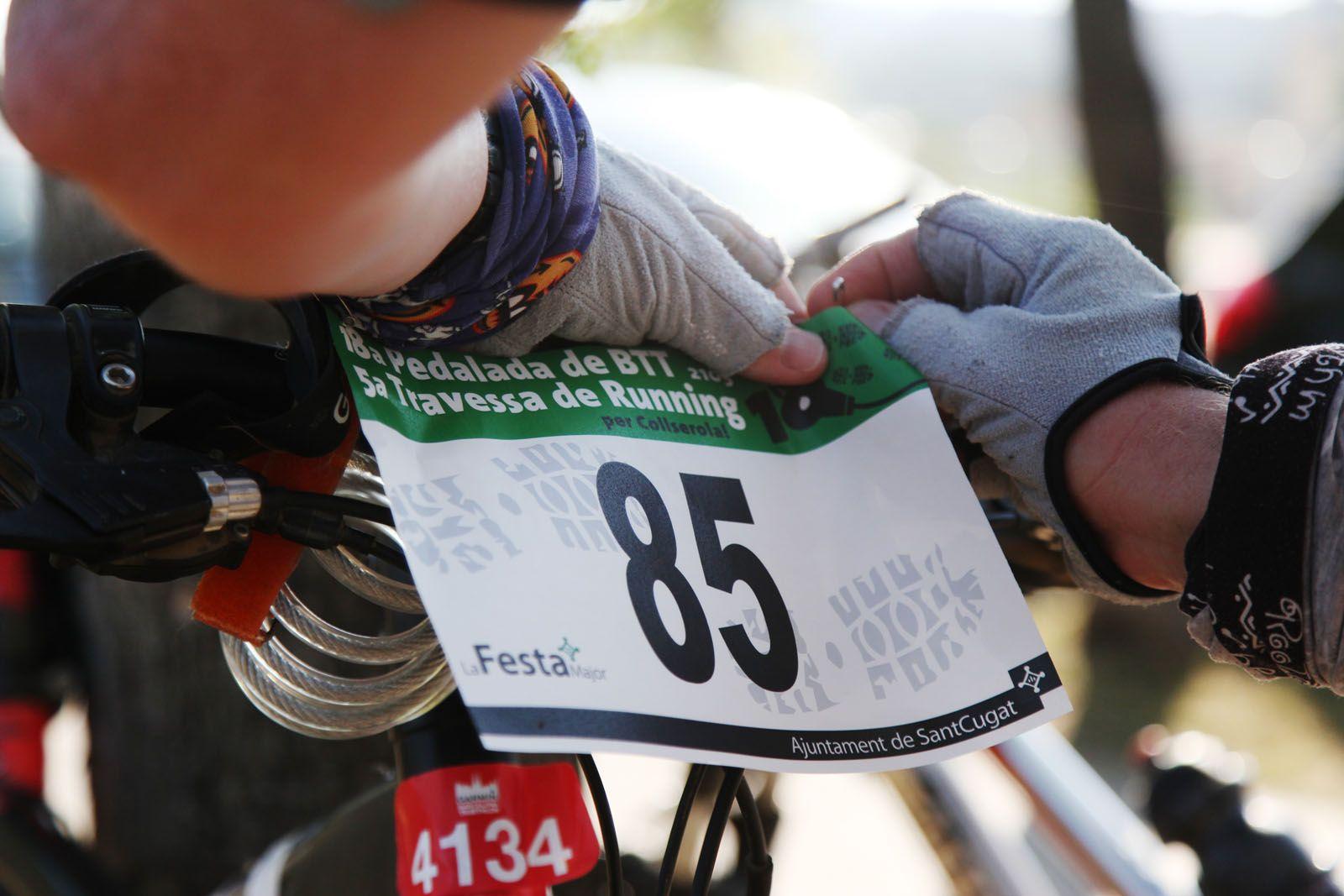 XVIII Pedalada BTT - 5a Travessa de running al Parc de la Pollencreda. FOTOS: Lali Puig