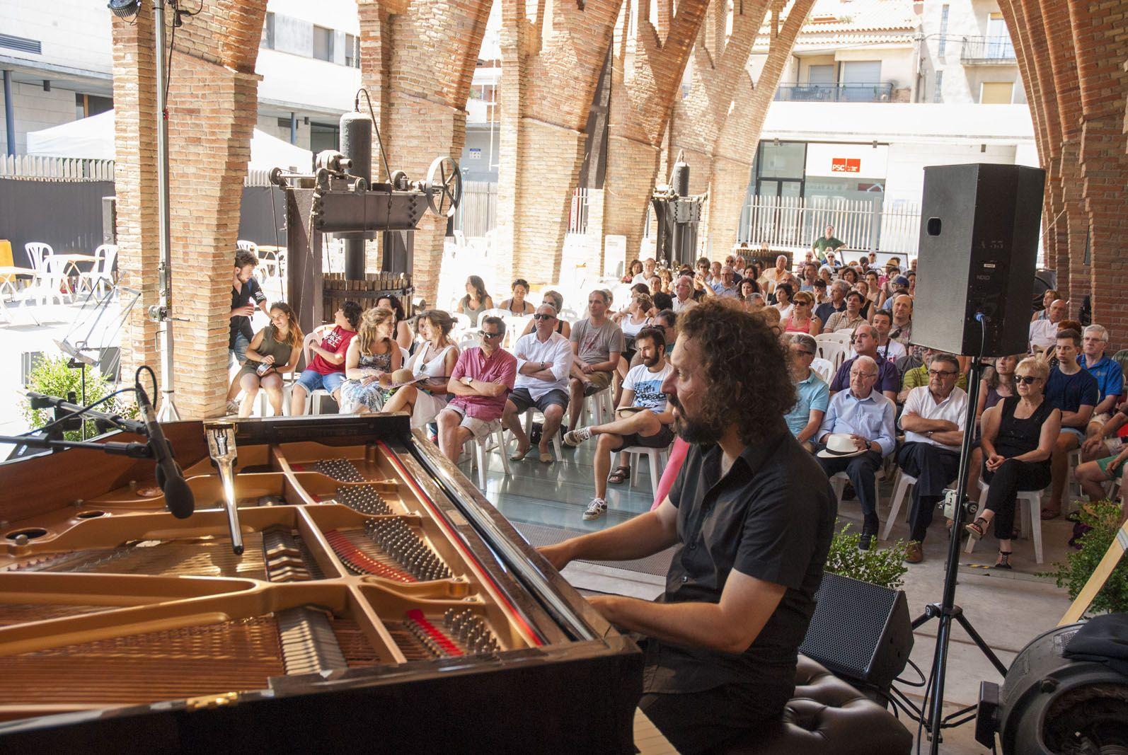 Concert Cambotré Jazz Ensemble i Artur Regada. Celler Modernista. FOTOS: Aïda Sotelo