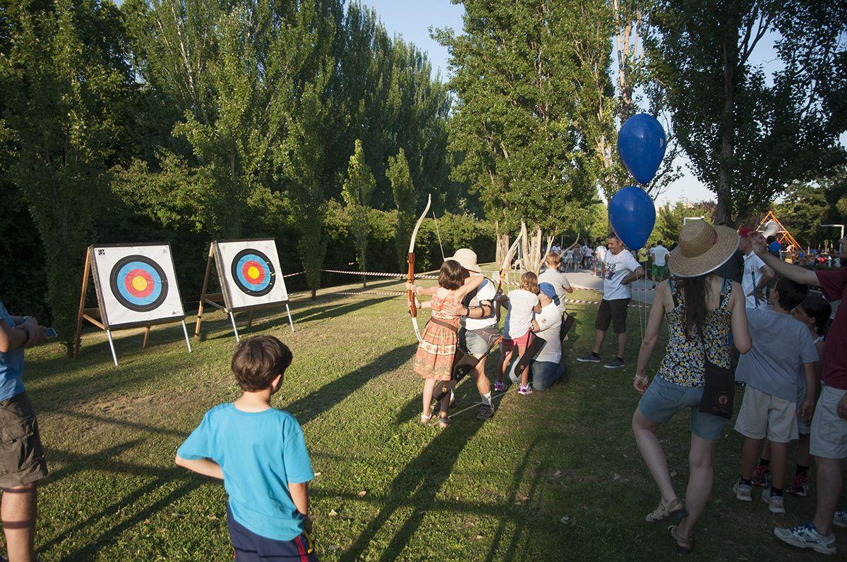 El Racó Infantil de Festa Major ha estat escenari de l'activitat. FOTO: P. F.