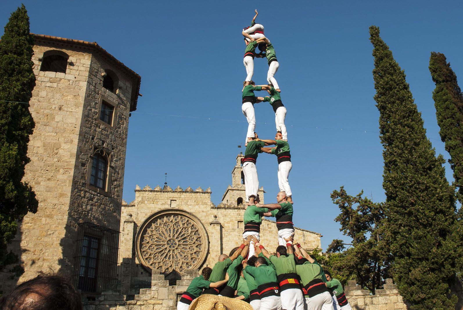 Torre de 8 carregada dels Gausacs. FOTO: Aida Sotelo