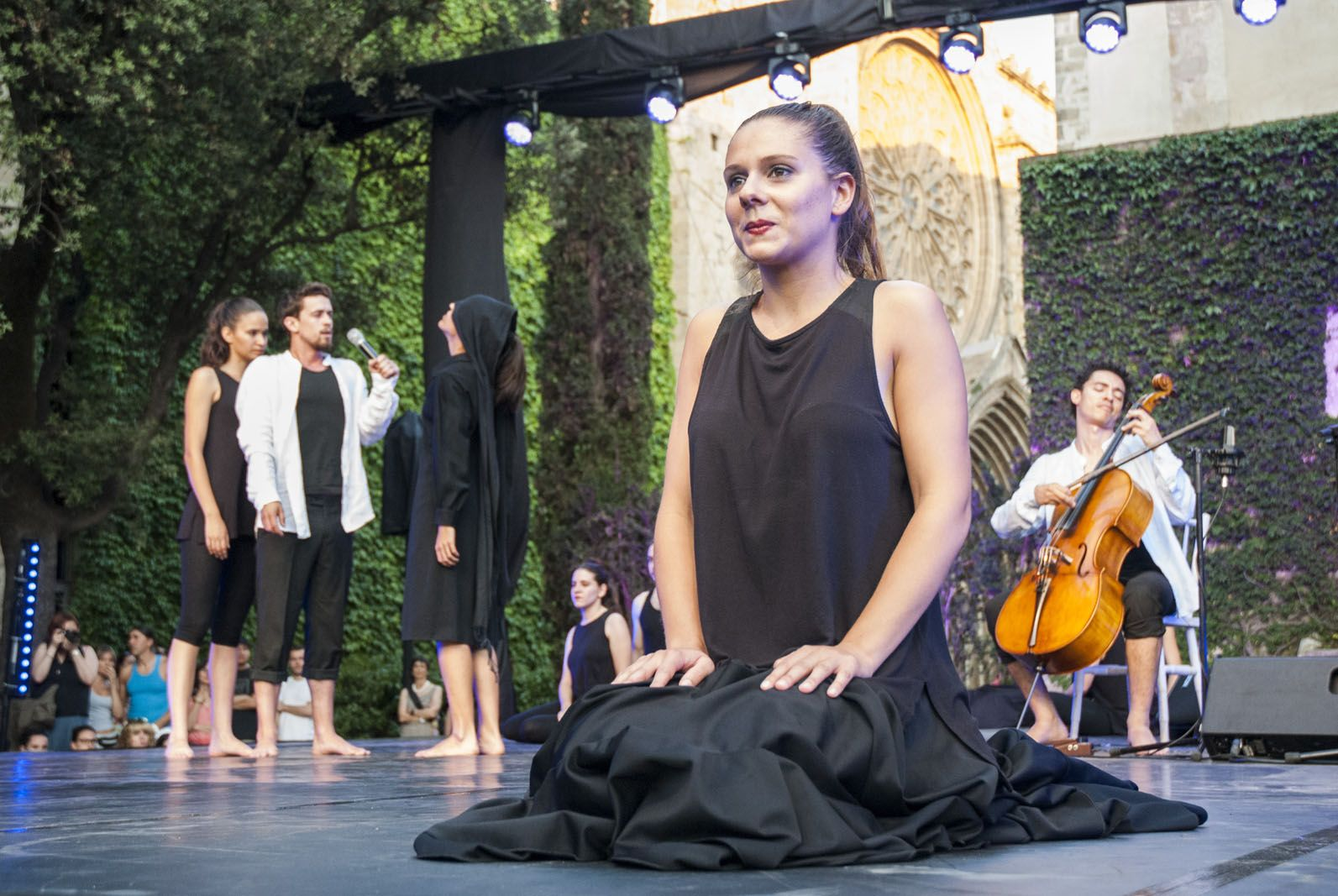 L'espectacle s'estrena a Fira Mediterrània de Manresa. FOTO: Aida Sotelo