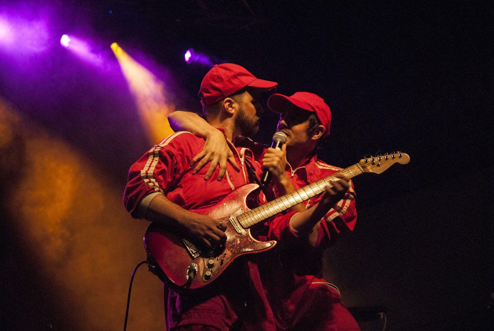 Concert la Banda del Coche Rojo. Plaça Octavià. FOTO: Aïda Sotelo