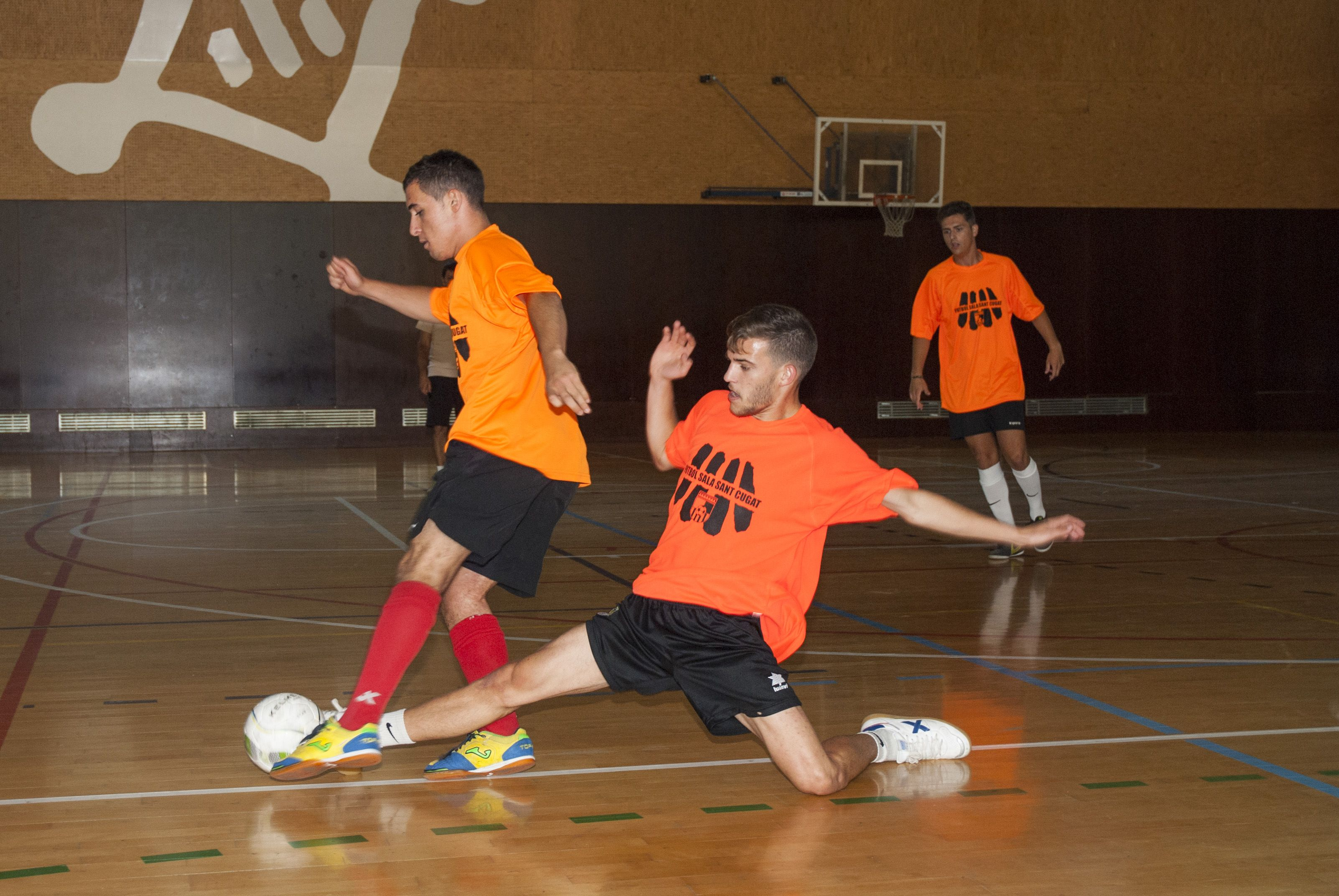 16 Hores de Fútbol Sala, ZEM Rambla del Celler. FOTO: Aïda Sotelo