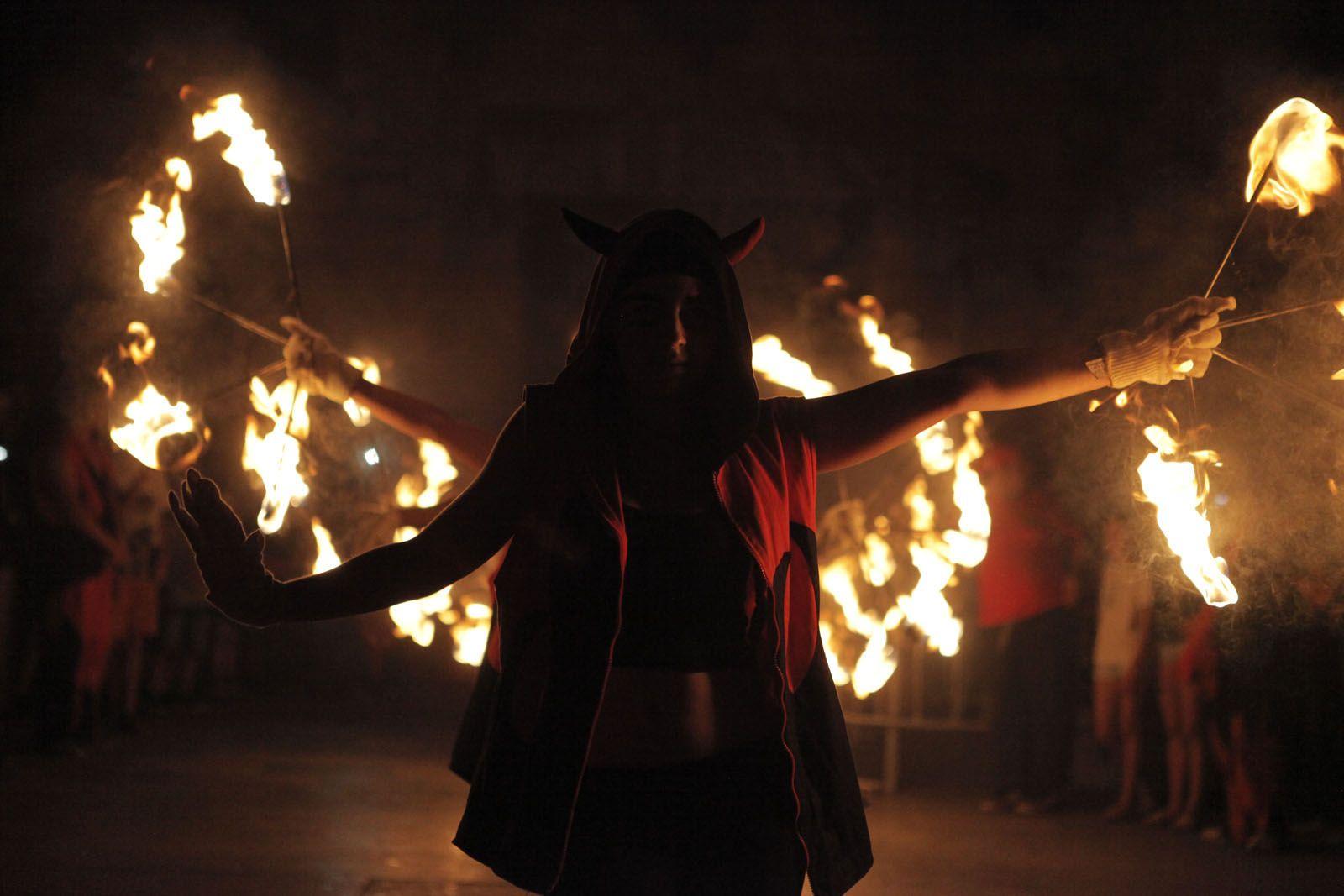 Correfoc de Diables. FOTO: Artur Ribera