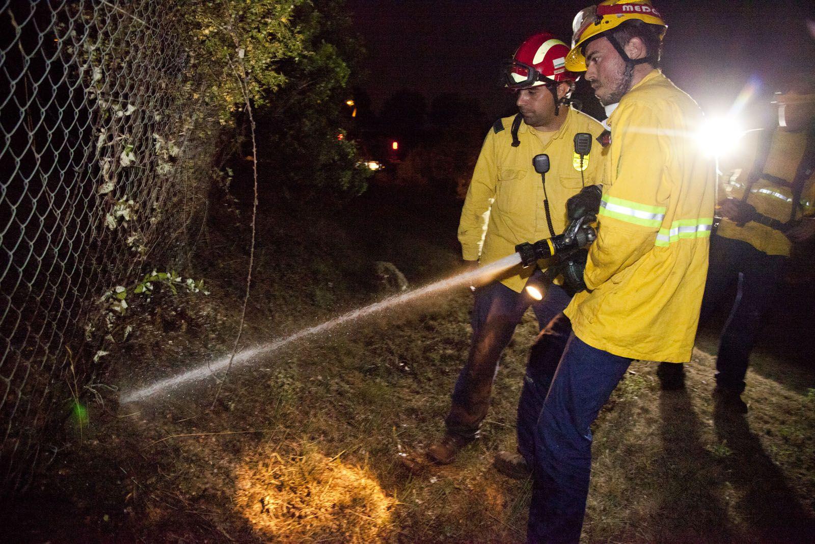 ADF treballant al lloc dels fets. FOTO: Lali Puig