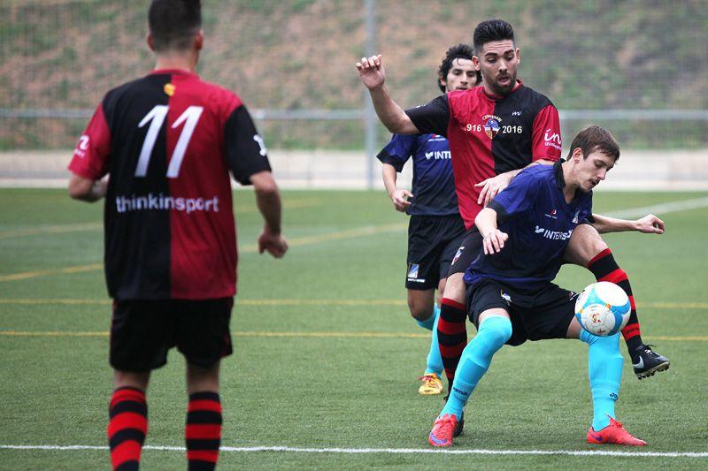 Jordi Cortés ha estat l'autor del primer gol del Junior FC. FOTO: Lali Puig