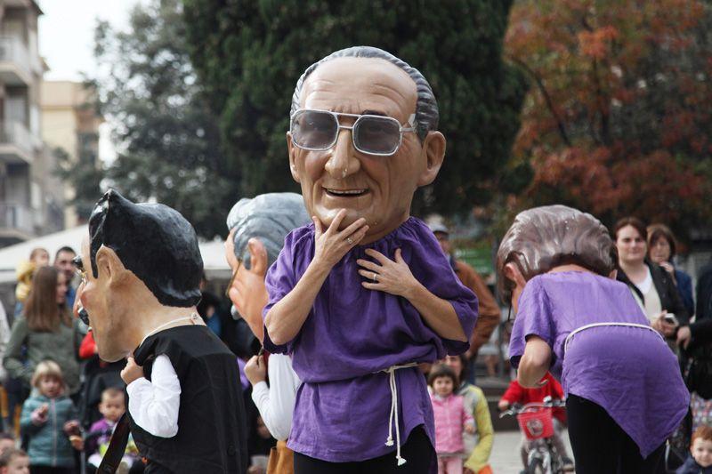 La cultura popular torna a brillar a la Festa de Tardor FOTO: Lali Puig