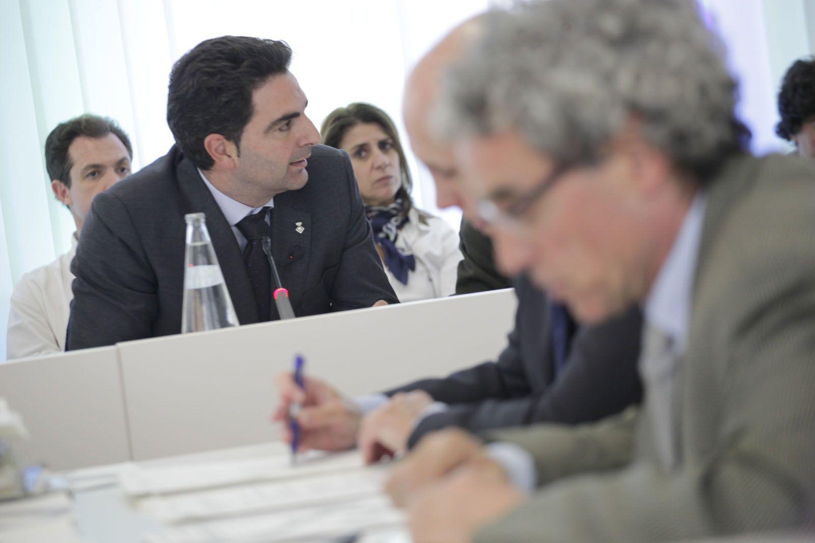 El portaveu de Ciutadans Aldo Ciprian FOTO: Artur Ribera