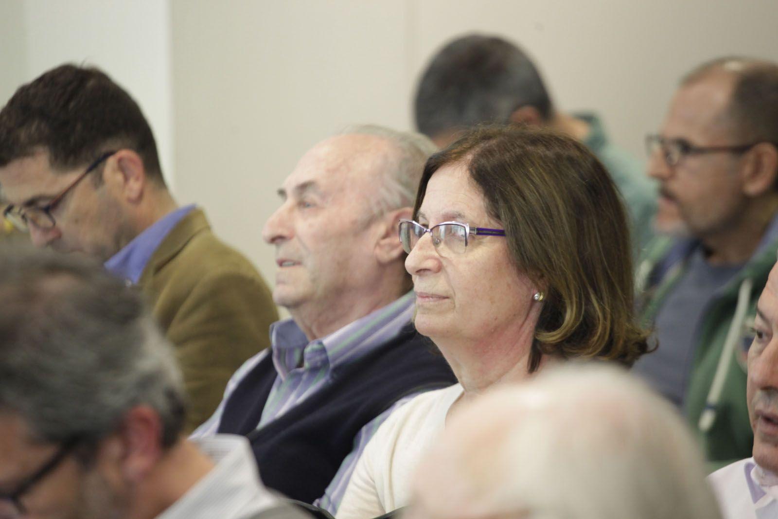 Representants del Centro Castellano Manchego. FOTO: Artur Ribera