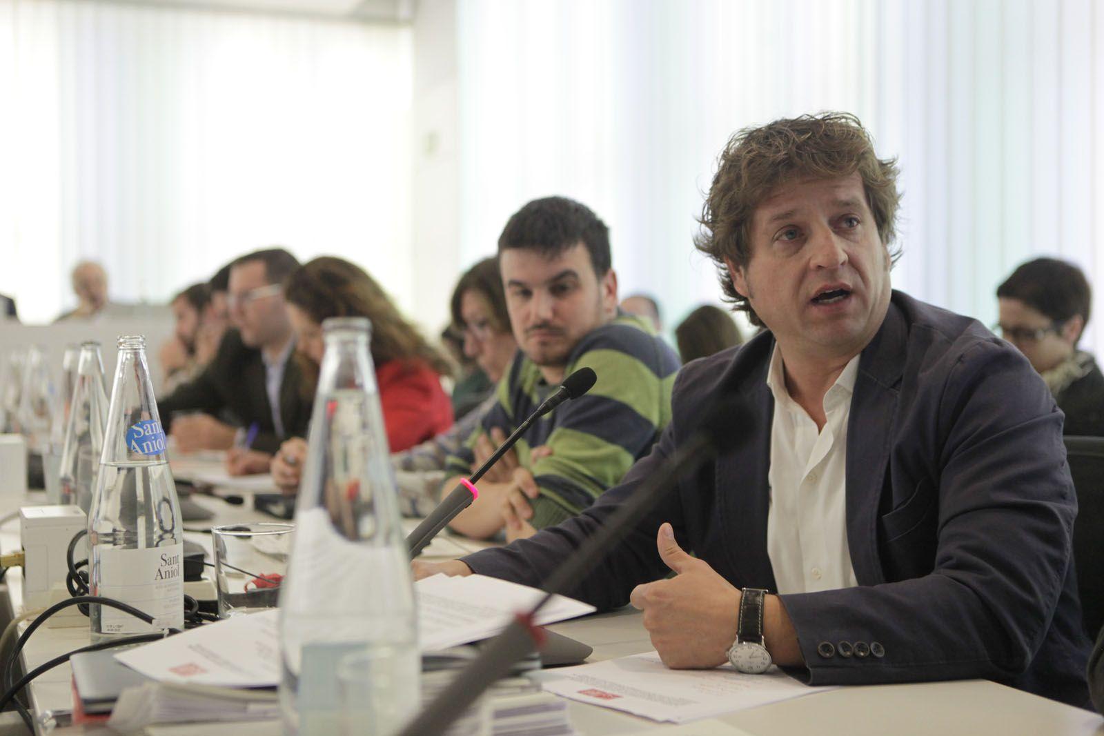 Pere Soler (PSC) és el regidor socialista a l'Ajuntament de Sant Cugat.  FOTO: Artur Ribera