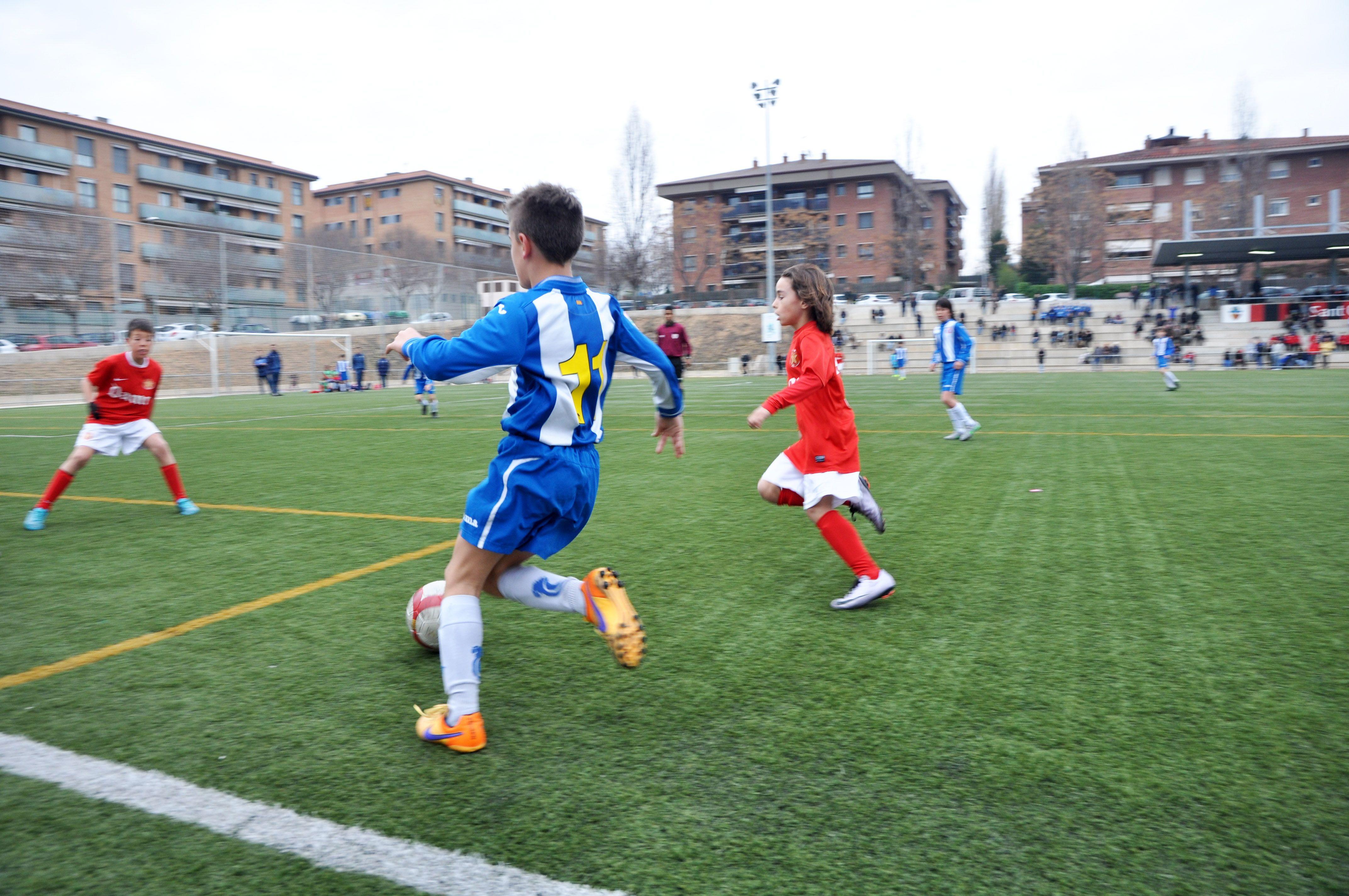 RCD Espanyol i Damm CF han estat també dos dels equips destacats. FOTO: Pere Fernández