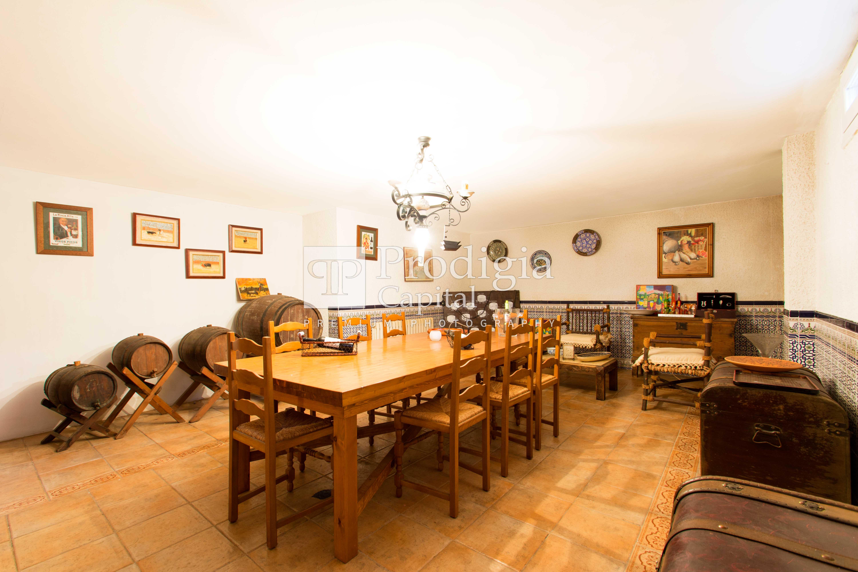 L'ampli soterrani permet ampliar les zones d'activitat de la casa FOTO: Cedida