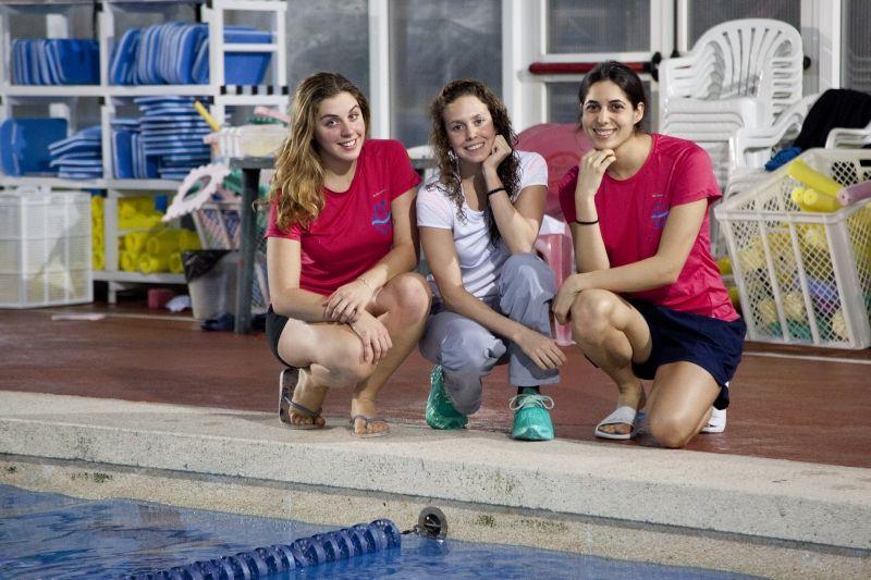 Sophie Compte, Clara Camacho i Maria Ten FOTO: Lali Puig