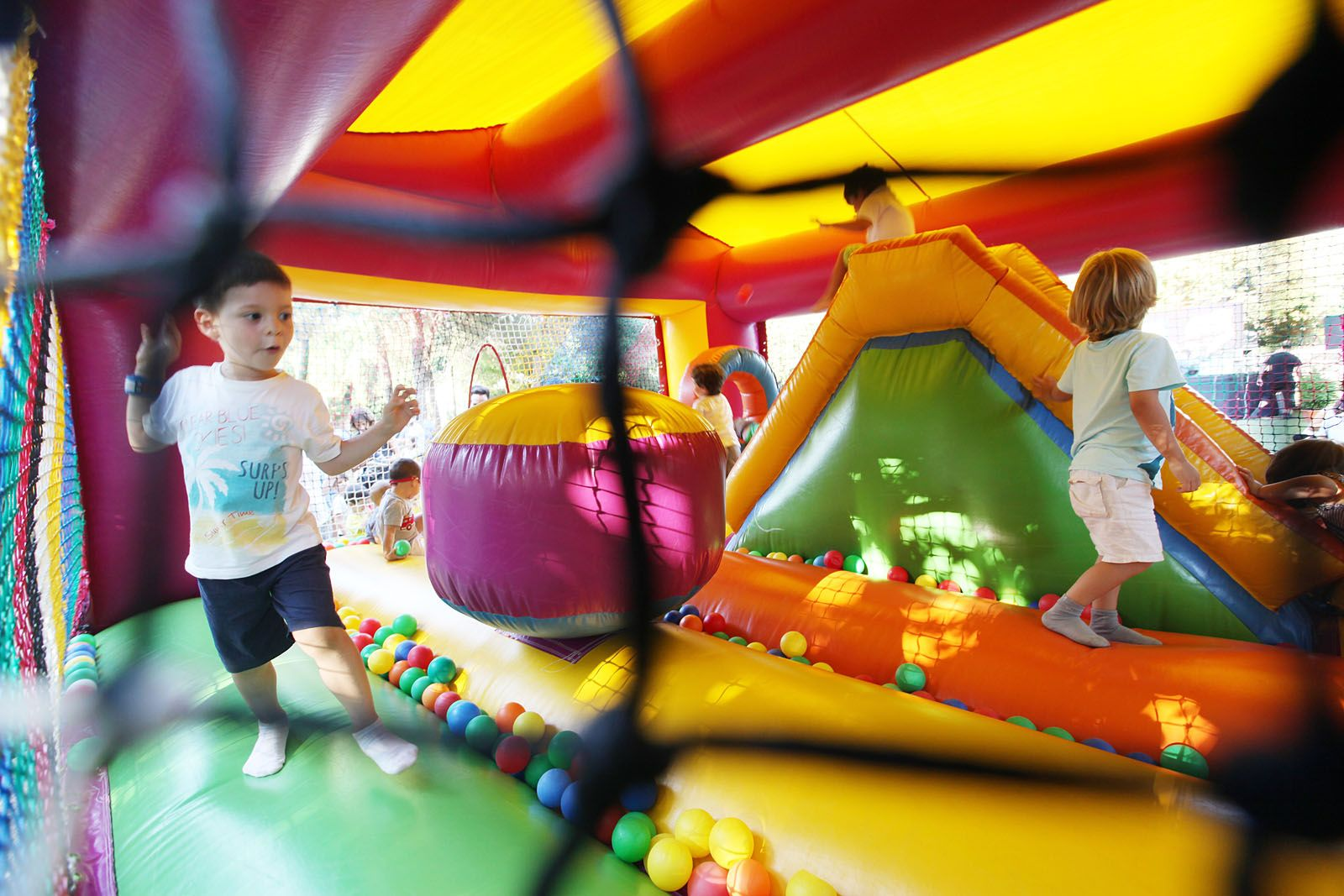El Racó Infantil se situa al Parc Central FOTO: Lali Puig