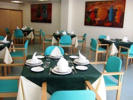 Amavir compta, entre d'altres amb un ampli menjador FOTO: Cedida