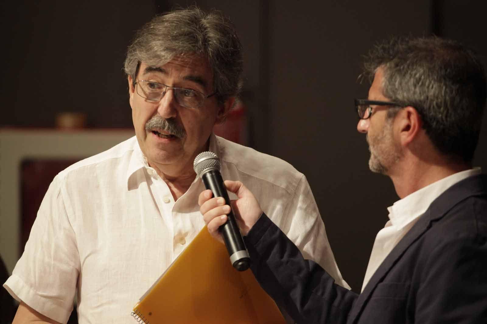 Xavier Barbany ha parlat com a vicepresident del Consell de Barri FOTO: Artur Ribera