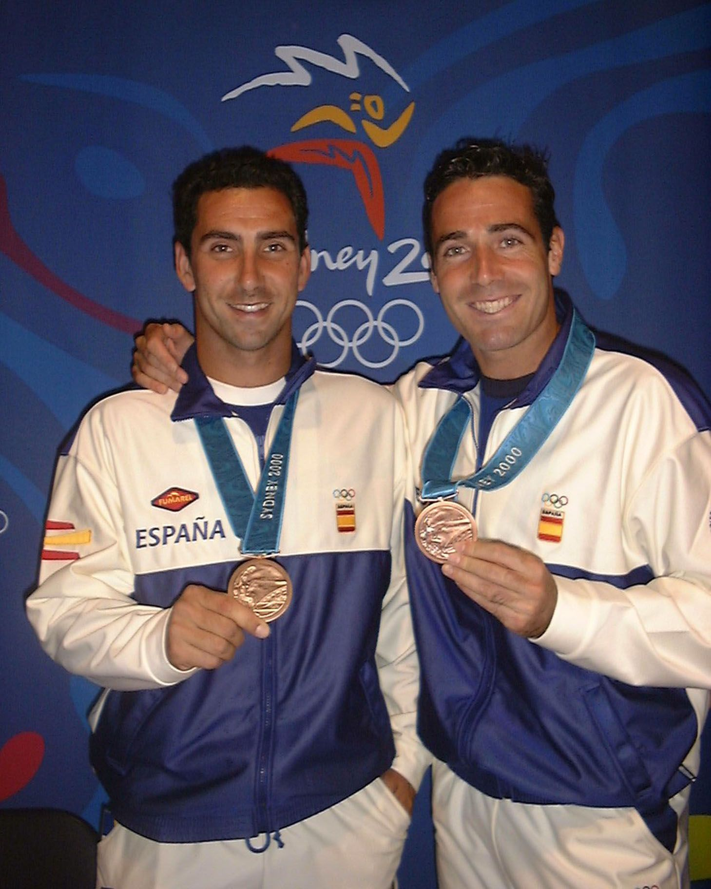 L'extennista Àlex Corretja va guanyar el bronze a Sidney 2000, fent parella amb Albert Costa. FOTO: Cedida