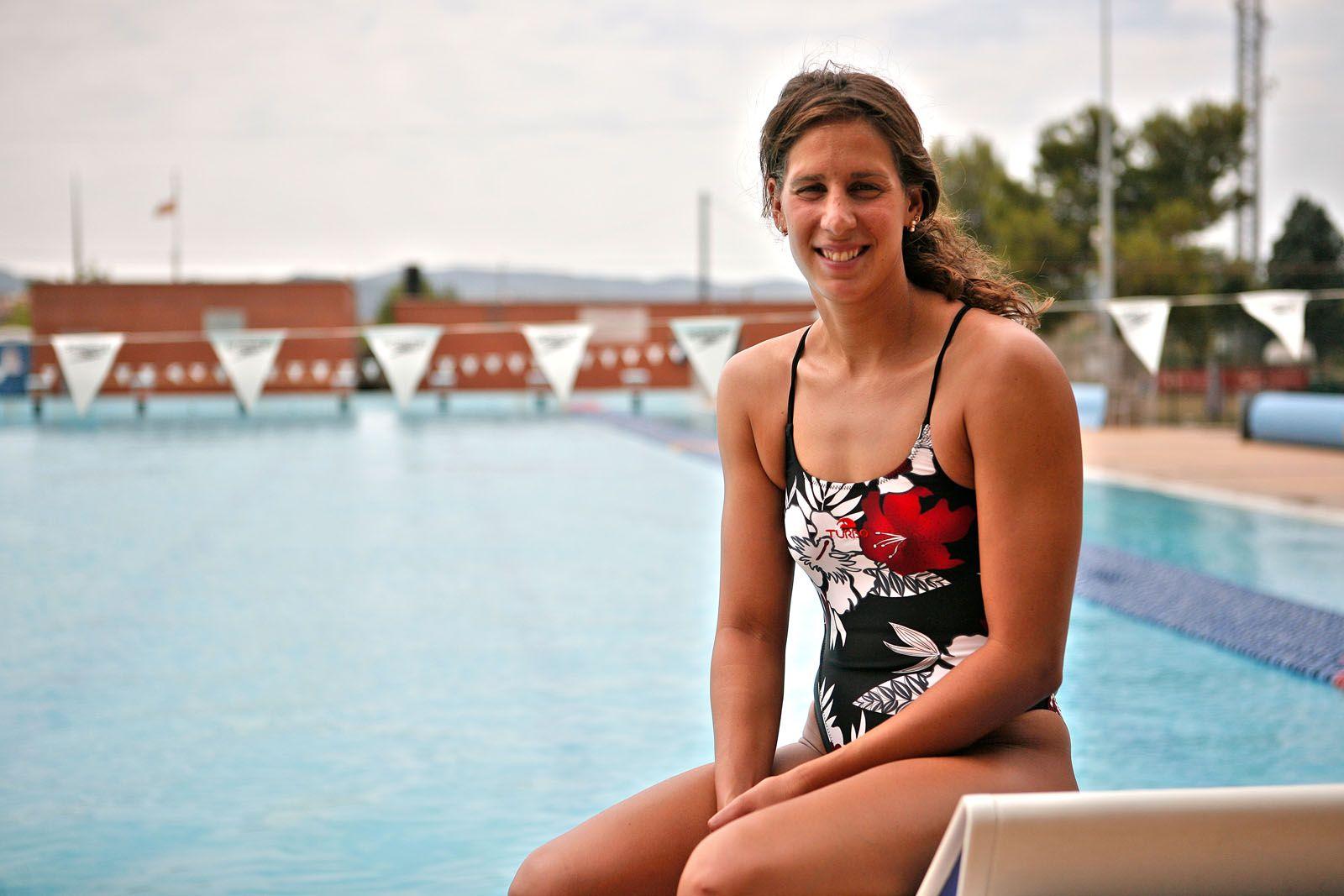 Erika Villaécija ha competit en la prova dels 10 km en aigües obertes FOTO: Artur Ribera
