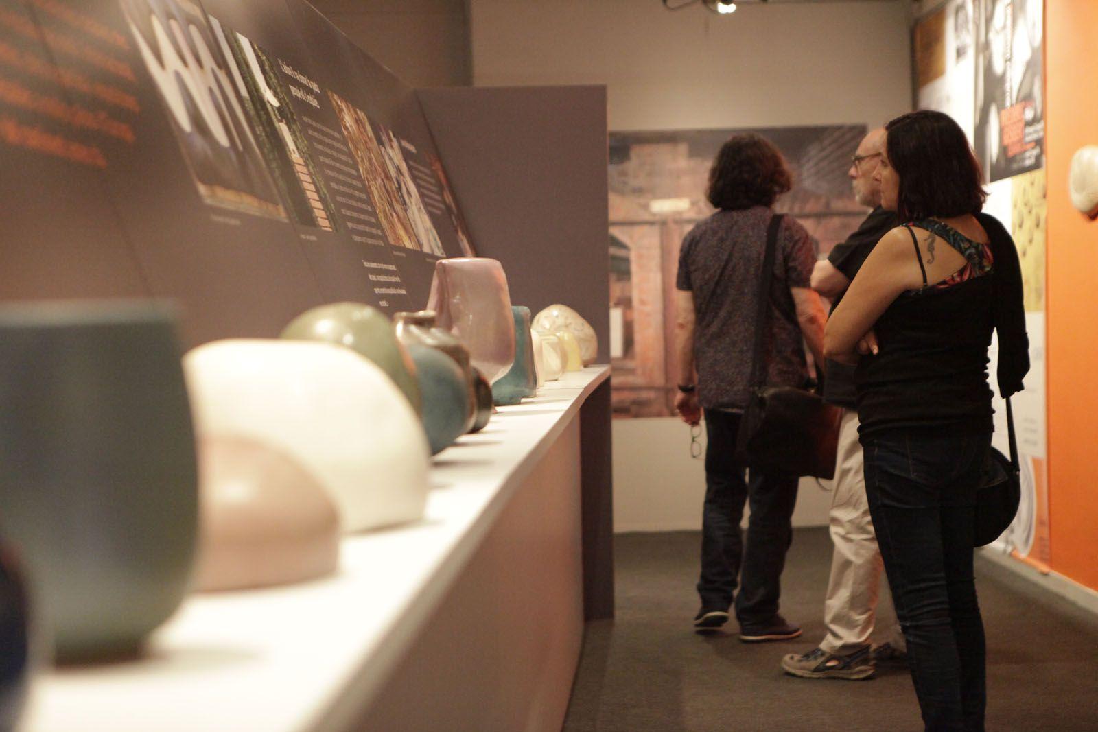 No hi falta el món clàssic de la ceràmica  FOTO: Artur Ribera