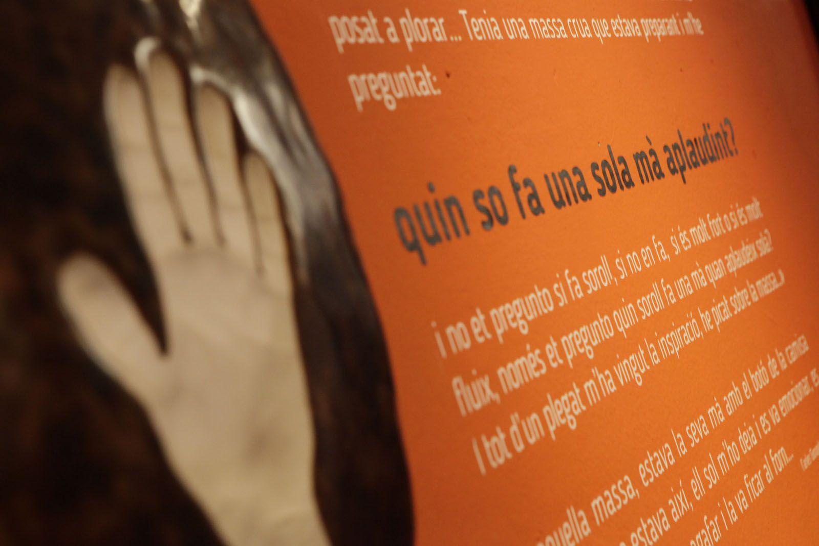 La peça que dóna nom a l'exposició  FOTO: Artur Ribera