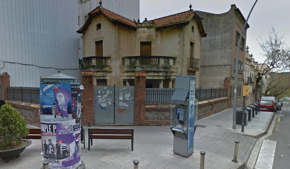 La casa que l'Ajuntament vol adquirir de l'avinguda de Cerdanyola