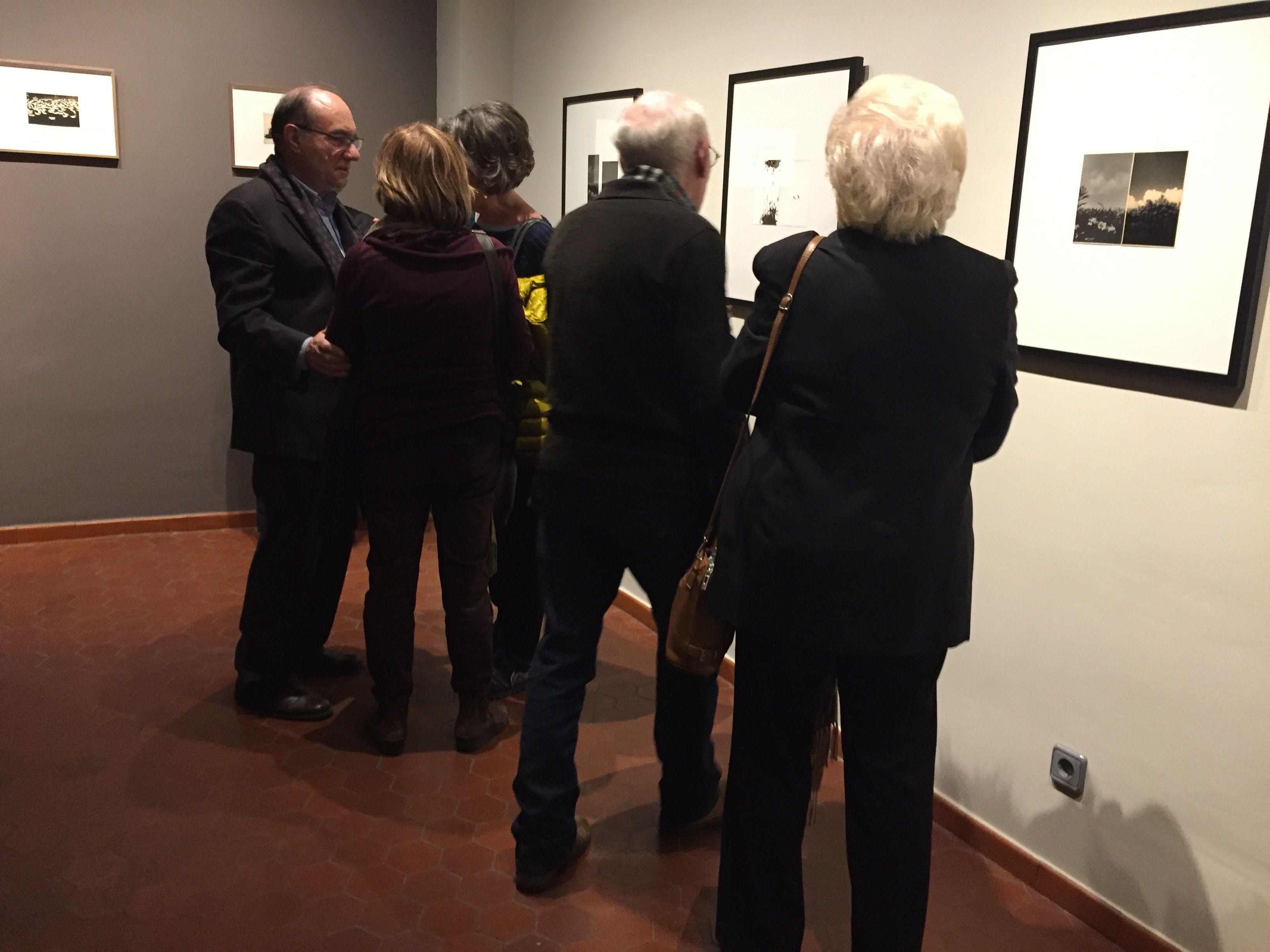"""s'ha inaugurat l'exposició """"La Quietud del Devenir"""" d'Andrei Farcasanu FOTO: C. Caballé"""