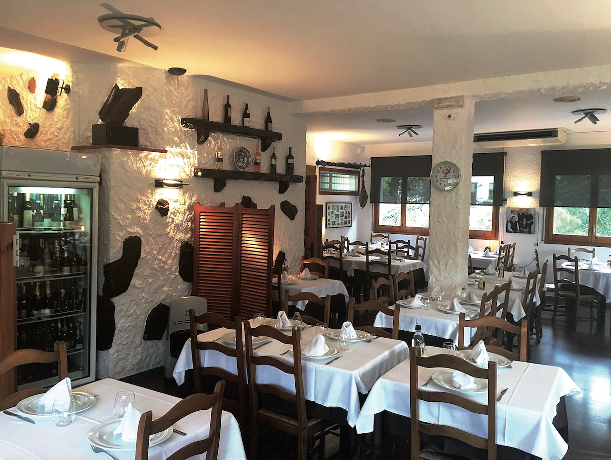 El mític restaurant de La Floresta FOTO: Cedida