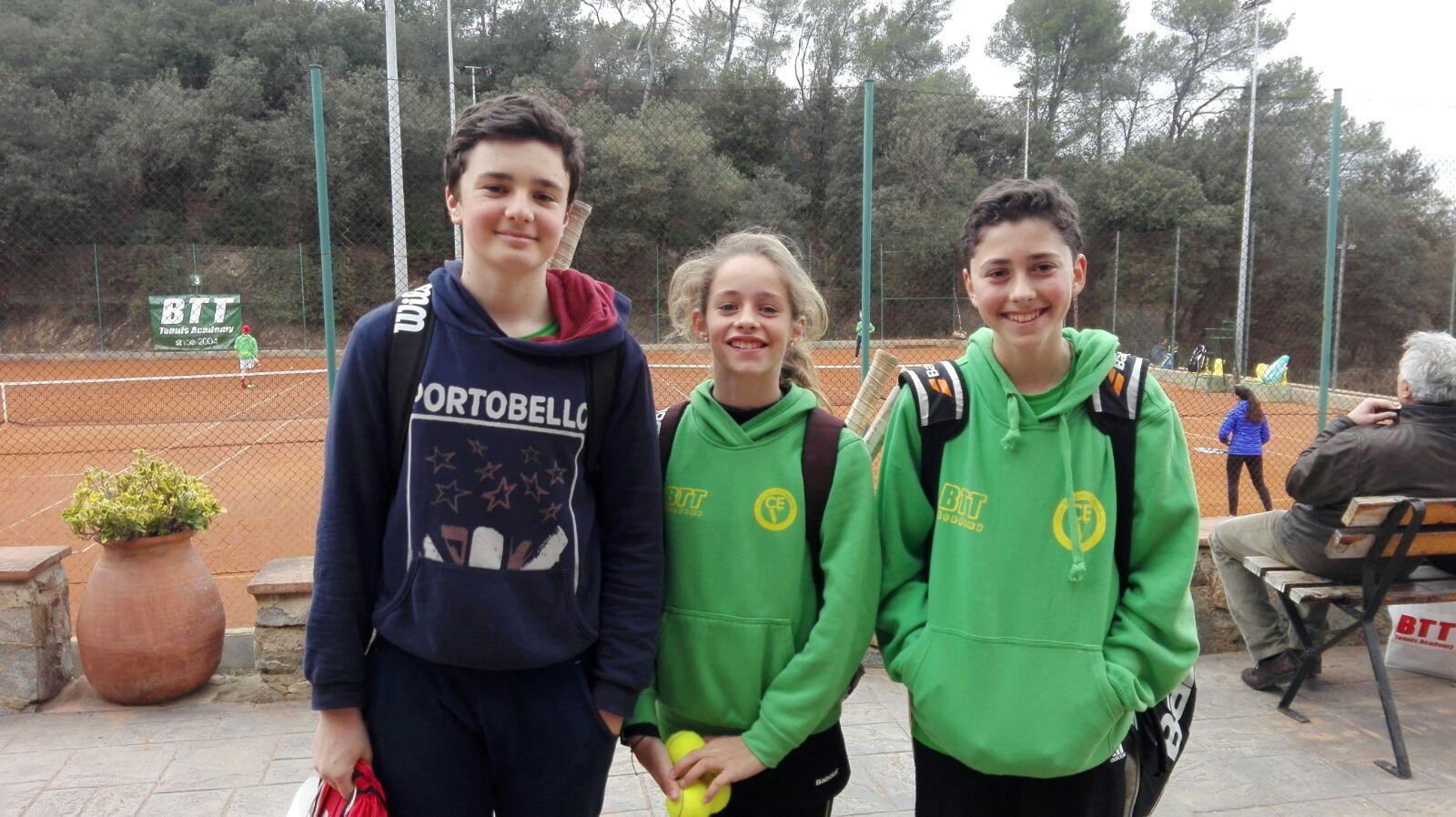 El rànquing de tennis juvenil del CE Valldoreix, un èxit. FOTO: CE Valldoreix