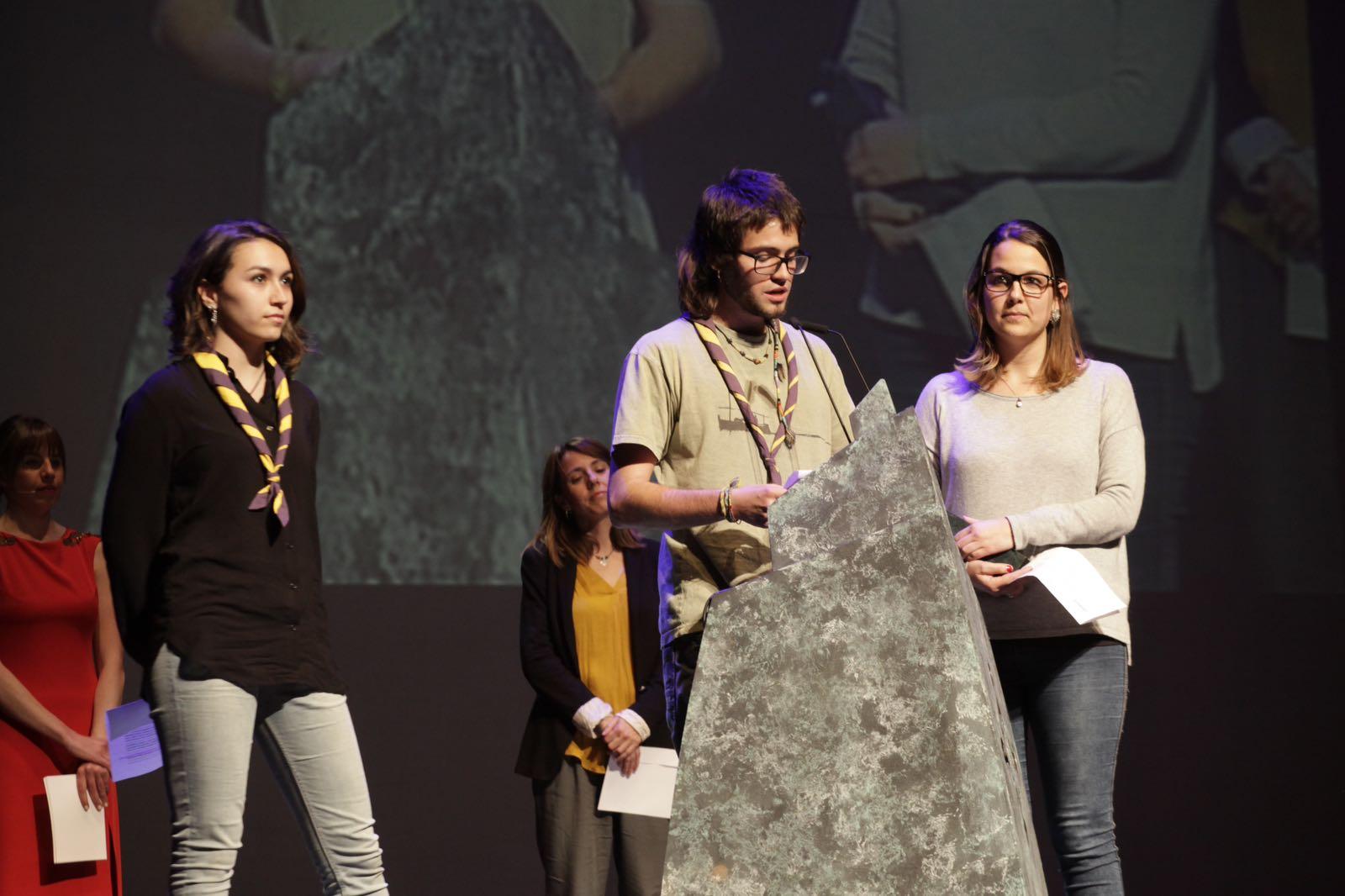 L'Esplai Pica-Roca reconegut amb el Premi Ciutat de Sant Cugat. FOTO: Artur Ribera