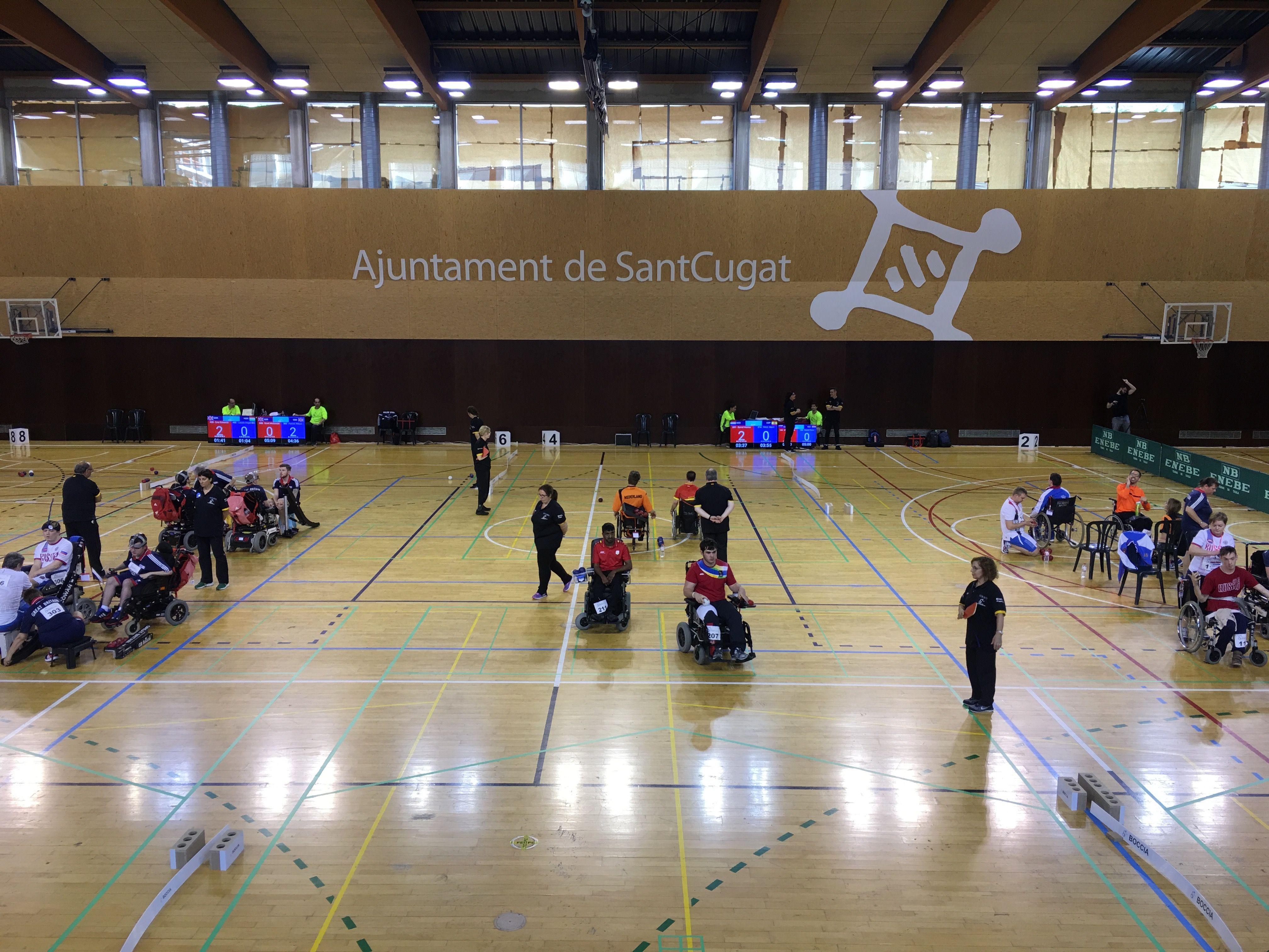 Sant Cugat ha acollit el torneig BISFed 2017 European Regional Open de boccia FOTO: Lala Aguilera