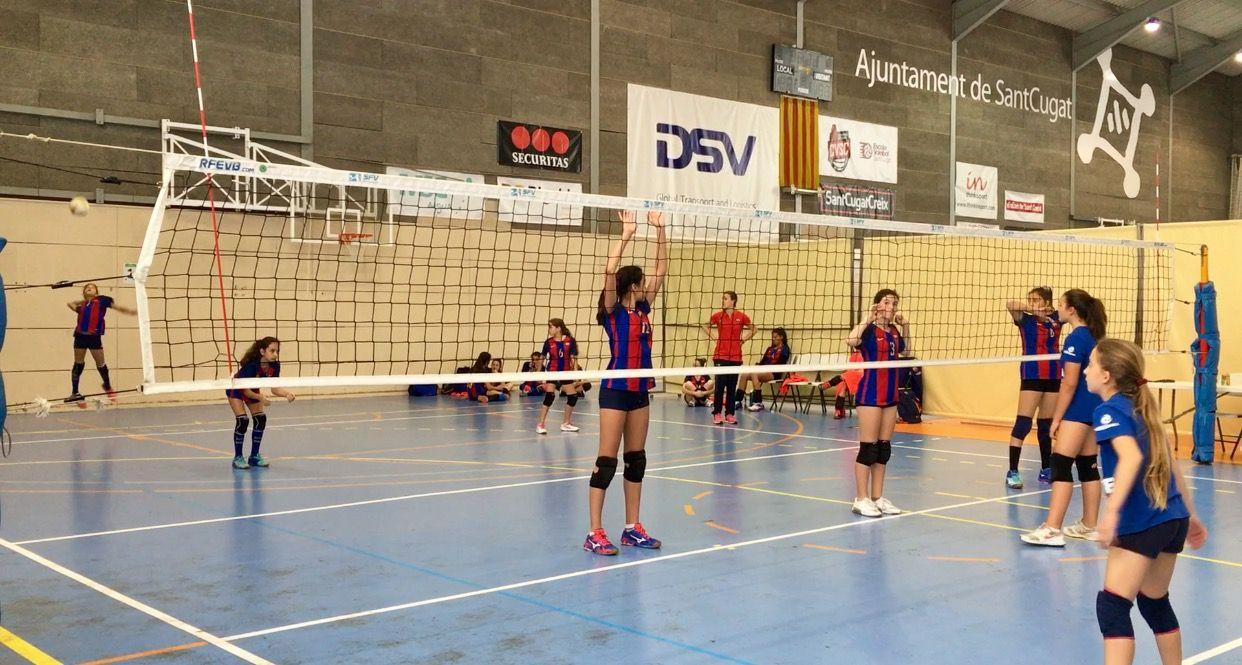 Imatge d'una de les jugades durant el torneig FOTO: Lala Aguilera