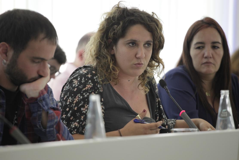 Núria Gibert és la portaveu de la CUP-PC a Sant Cugat FOTO: Artur Ribera