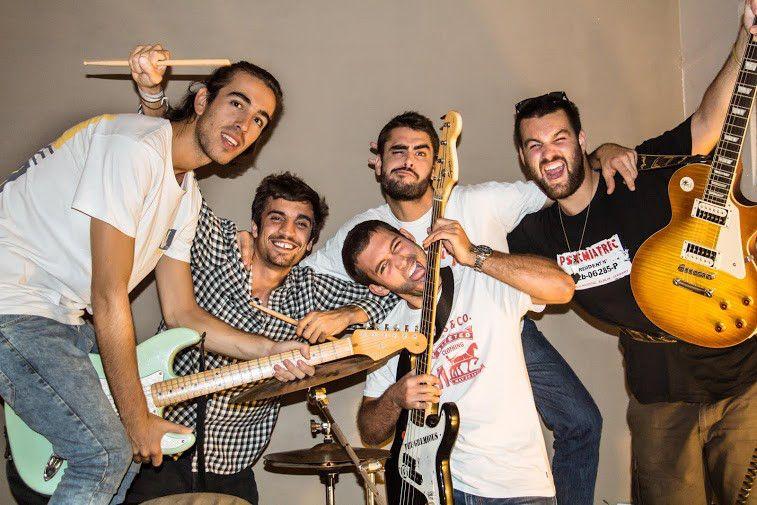 Els Malabeiros van començar tocant peces de rumba i van canviar al rock FOTO: Cedida