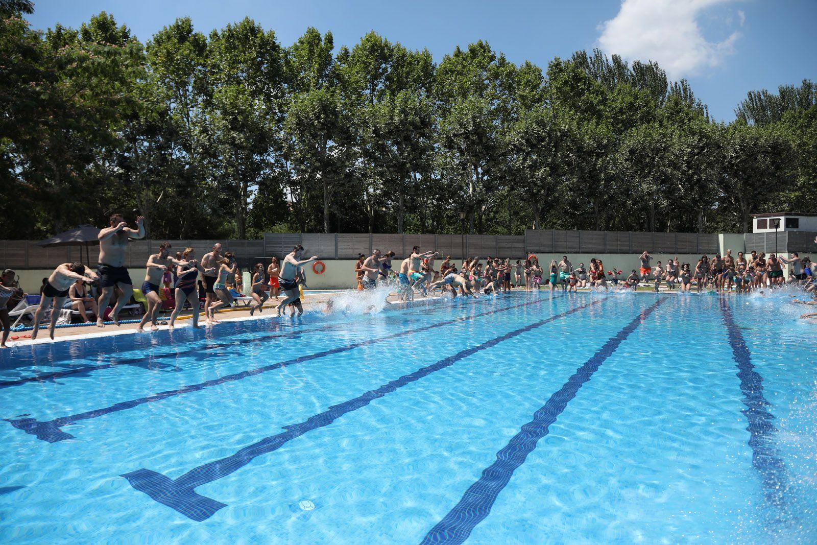 La piscina del Parc Central FOTO: Lali Puig